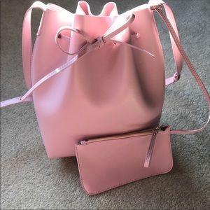 ‼️FINAL SALE‼️Pink bucket bag. Mansur Gavriel
